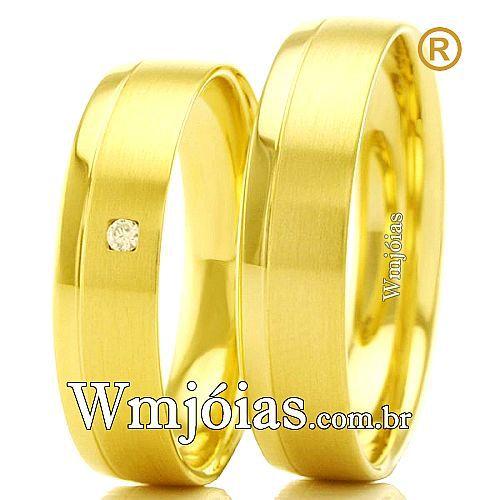 Alianças casamento Sumaré WM2271