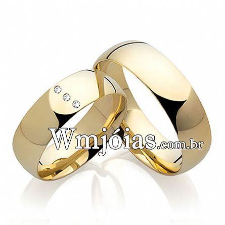 Alianças de casamento Barueri WM2214