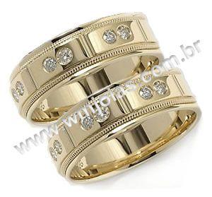 Aliancas de casamento Betim WM1312