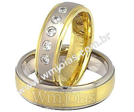 Alianças de casamento Brusque WM2263