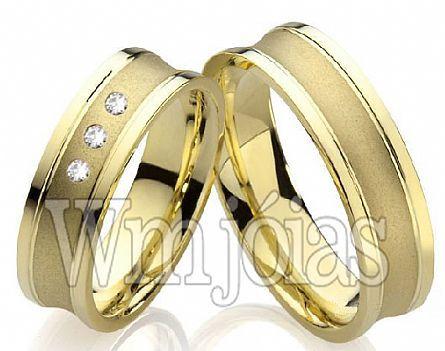Alianças de casamento concova WM2206
