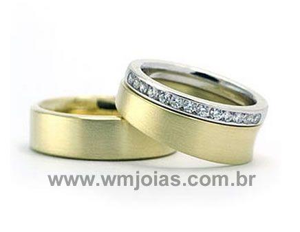 Aliancas de casamento Cotia WM1920