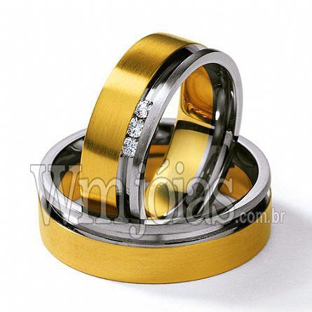 Alianças de casamento Cotia WM2276