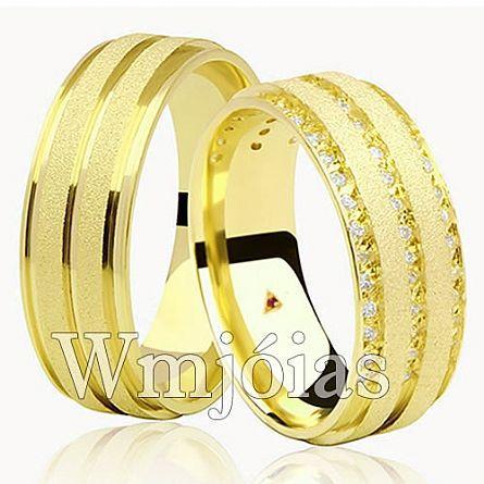 Alianças de casamento DF WM2939