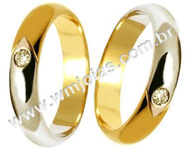 Alianças de casamento Duque de caxias WM900