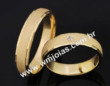 Alianças de casamento e noivado WM2055
