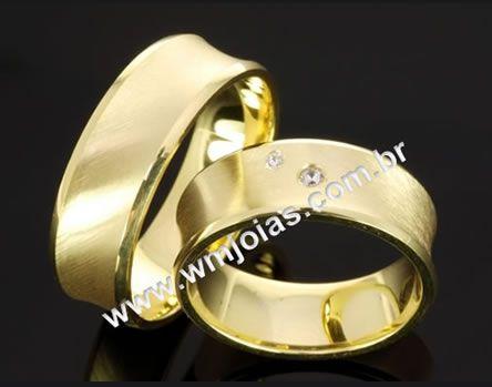 Alianças de casamento e noivado WM2077