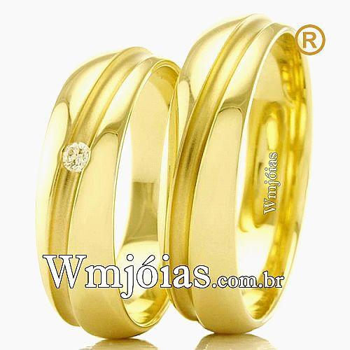 Alianças de casamento e noivado WM2292