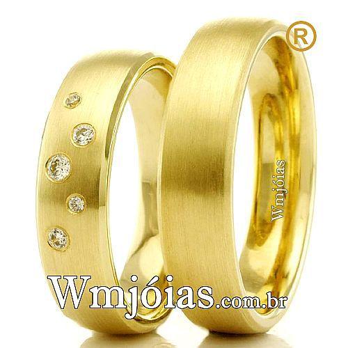 Alianças de casamento e noivado.. WM2309