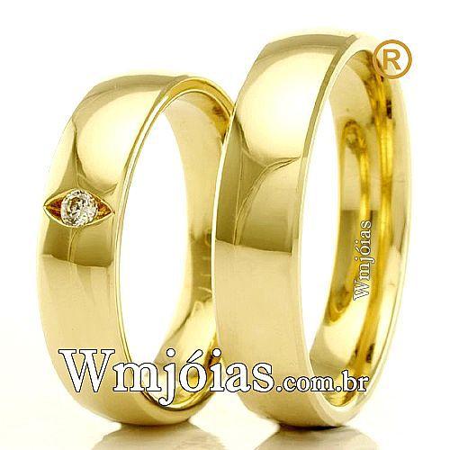 Alianças de casamento e noivado.. WM2313
