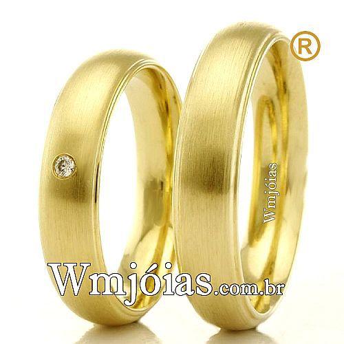 Alianças de casamento e noivado WM2315