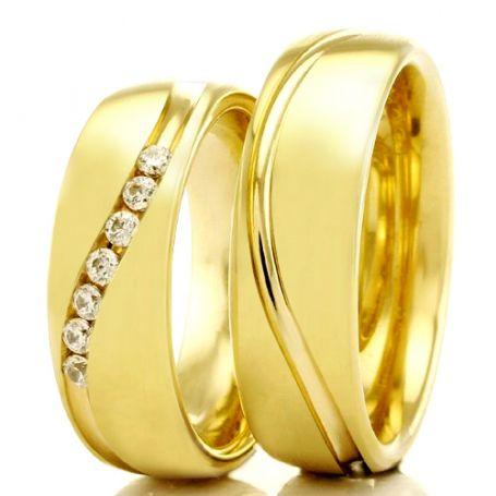 Alianças de casamento e noivado WM2316