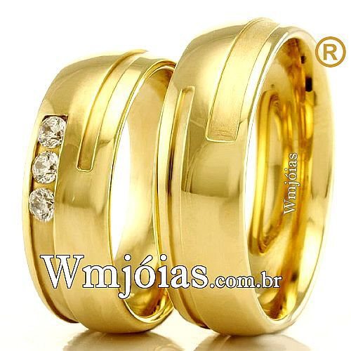 Alianças de casamento e noivado WM2318