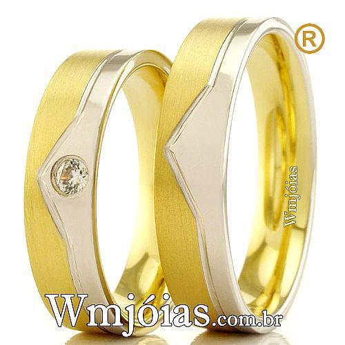 Alianças de casamento e noivado WM2374