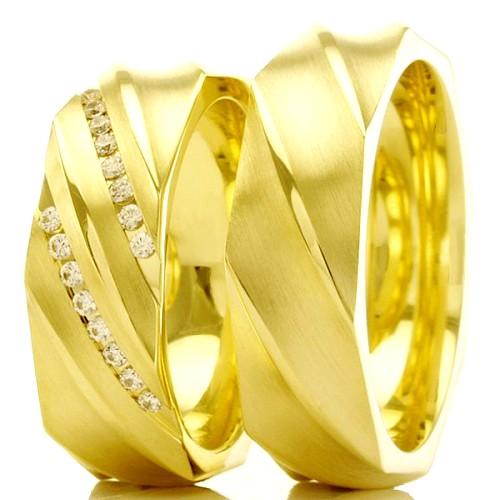 Aliancas de casamento e noivado WM2478