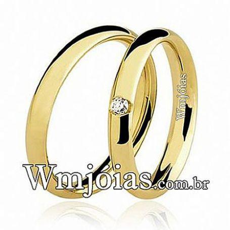 Alianças de casamento e noivado WM2616