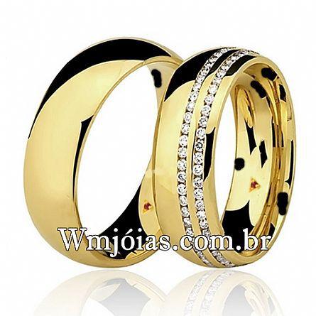 Alianças de casamento e noivado WM2650