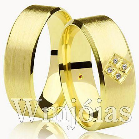 Alianças de casamento GO WM2940