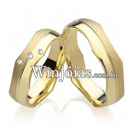 Alianças de casamento Louveira WM2219