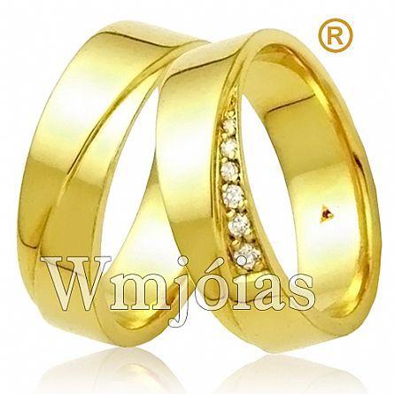 Alianças de casamento Luma WM2961