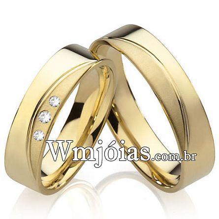 Alianças de casamento Marilia WM2216