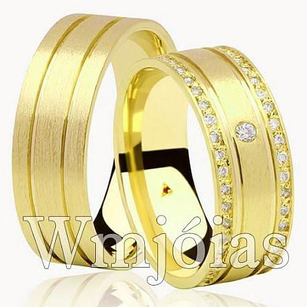 Alianças de casamento RJ WM2941