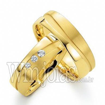 Alianças de casamento Santo andré WM2261