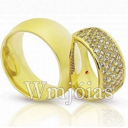 Alianças de casamento São caetano WM2286