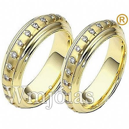 Alianças de casamento São luiz WM1334