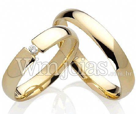 Alianças de casamento Sorocaba WM2226