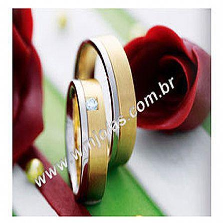 Alianças de casamento Sp WM1666
