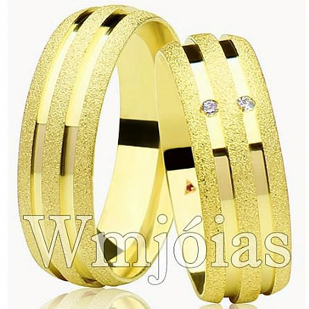 Alianças de casamento SP WM2942