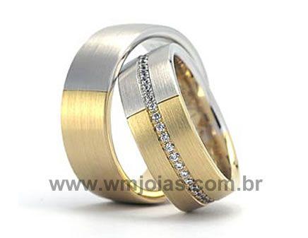 Aliancas de casamento Suzano WM1919