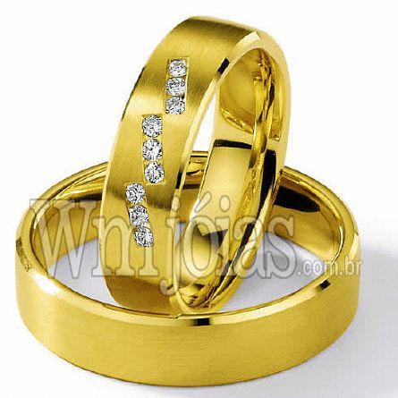Alianças de casamento Vitória WM2268