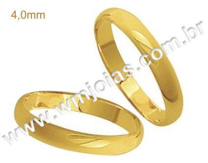 Alianças de casamento WM1869