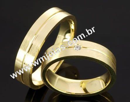Alianças de casamento WM2042