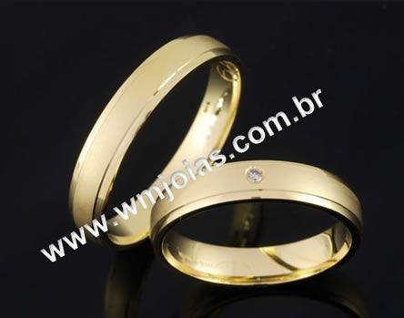 Alianças de casamento WM2052