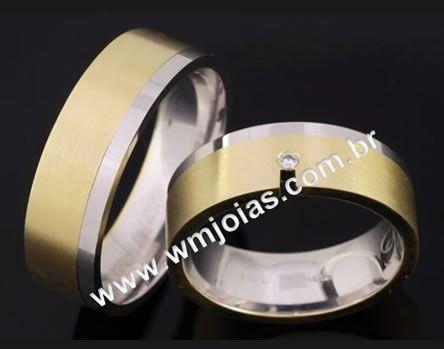 Alianças de casamento WM2063