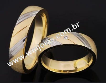 Aliancas de casamento WM2068