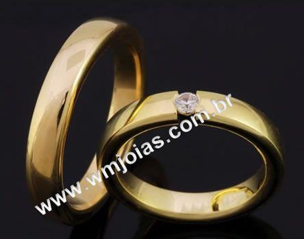 Alianças de casamento WM2079