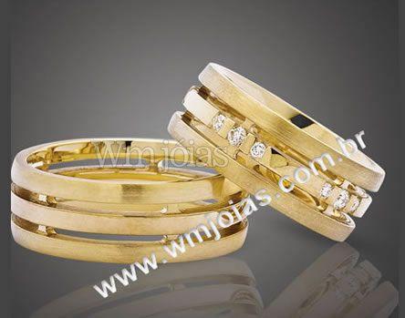 Aliancas  de casamento WM2082