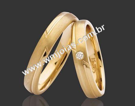 Alianças de casamento WM2089