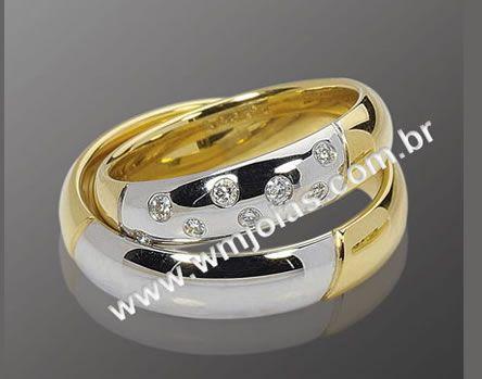 Alianças de casamento WM2092