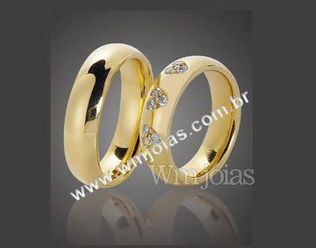 Alianças de casamento WM2094