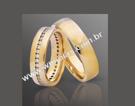Aliancas  de casamento WM2096