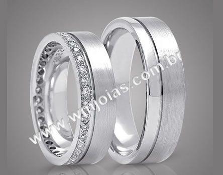 Alianças de casamento WM2120