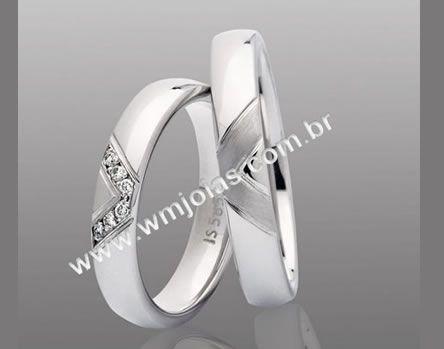 Aliancas de casamento WM2128