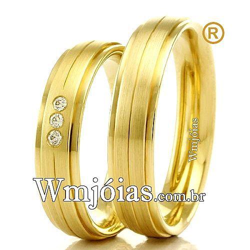 Alianças de casamento WM2322