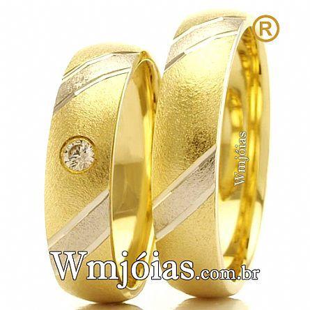 Aliancas de casamento WM2413
