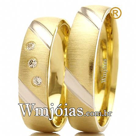 Aliancas de casamento WM2414